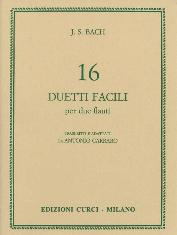 16 Duetti facili per 2 flauti