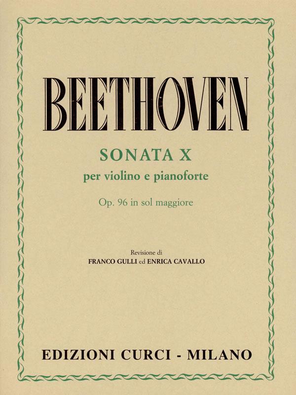 Sonata X op. 96 in Sol maggiore