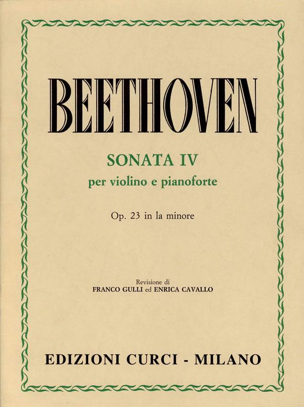 Sonata IV op. 23 n. 4 La minore