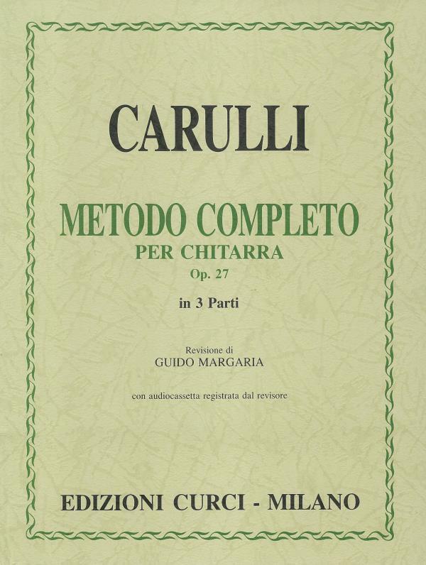 Metodo completo op. 27 in tre parti