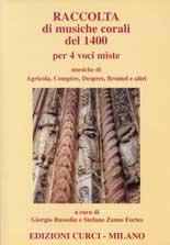 Raccolta di musiche corali del 1400