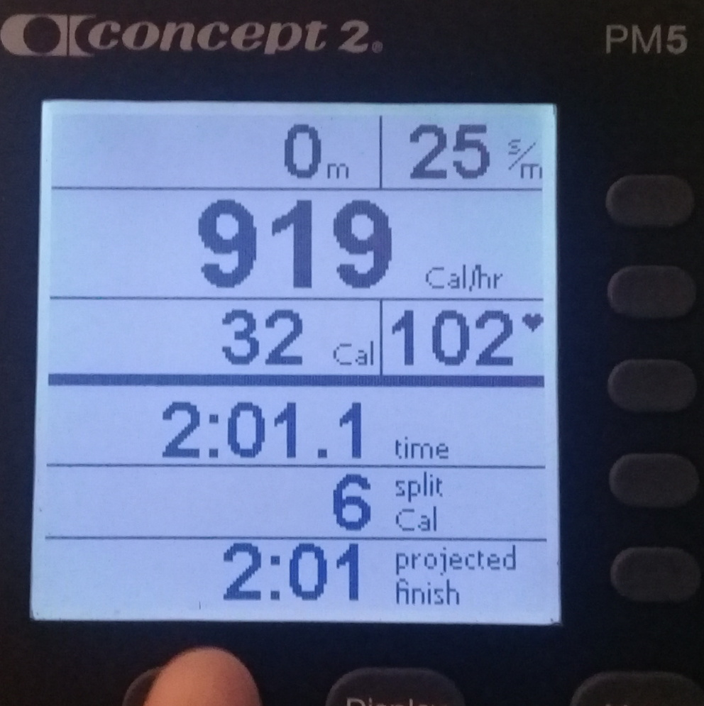 Calories data